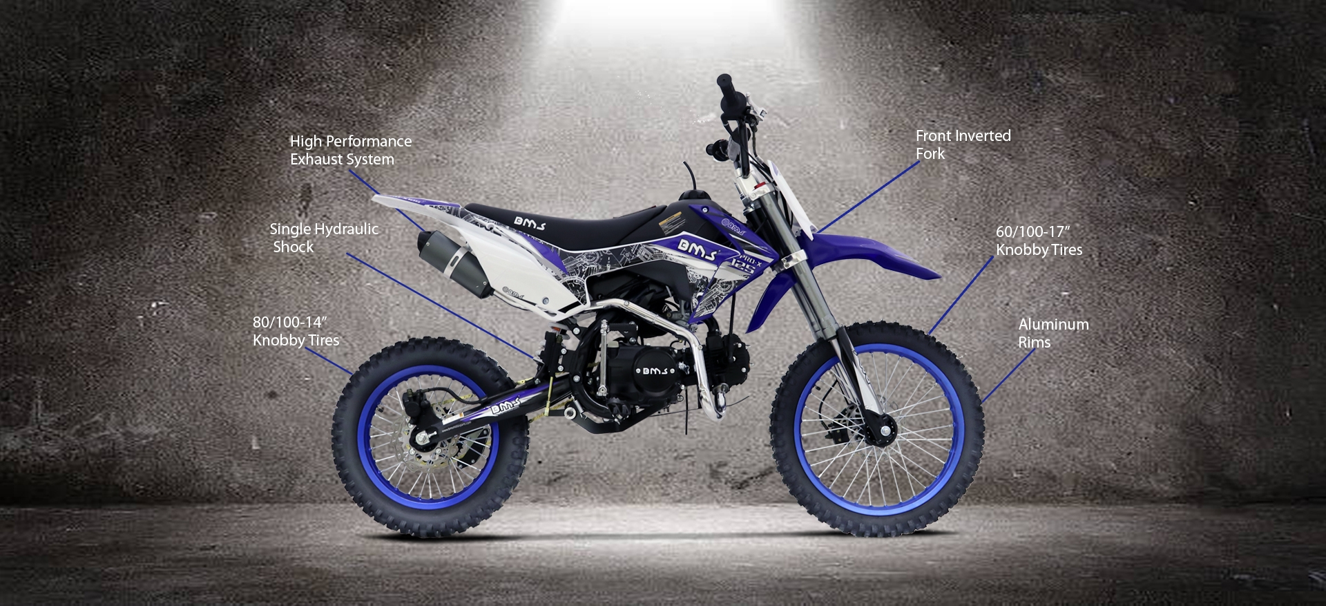 BMS Motorsports | Riverside, California BMS® PRO X 125 Premium